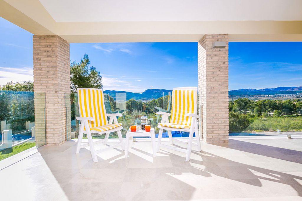 Toscamar Bedroom Terrace